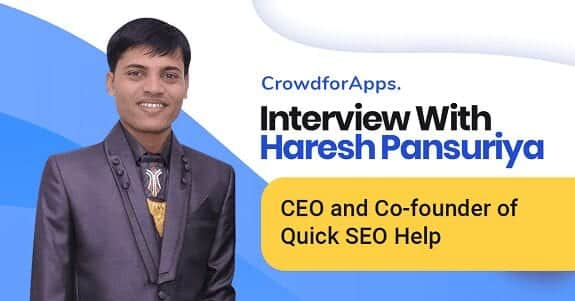 Interview With Crowdfor Apps